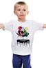 """Детская футболка классическая унисекс """"Череп Дали"""" - сальвадор дали, сюрреализм, salvador dali, сальвадор, усы дали"""