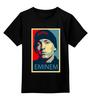 """Детская футболка классическая унисекс """"Эминем (Eminem)"""" - поп арт, rap, рэп, eminem, эминем"""