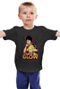 """Детская футболка """"Брюс Ли (The Glow)"""" - bruce lee, брюс ли, the glow"""