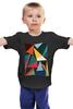 """Детская футболка """"Треугольники"""" - арт, абстракция, фигуры, треугольники"""
