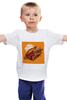 """Детская футболка классическая унисекс """"кассета."""" - музыка, кассета, компакт-кассета, аудиокассета"""