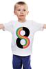 """Детская футболка классическая унисекс """"Бесконечность (Космос)"""" - space, космос, бесконечность, infinite"""