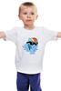 """Детская футболка классическая унисекс """"Rainbow_Dash_chillin"""" - mlp, пони, swag, радуга дэш"""