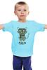 """Детская футболка """"Умный Кот"""" - кот, очки, cat, meow"""