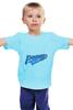 """Детская футболка классическая унисекс """"Ротор """" - футбол, football, волгоград, ротор, rotor"""