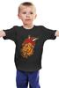 """Детская футболка классическая унисекс """"Символ 2015"""" - новый год, new year, символ, 2015, коза, козел, goat"""