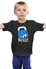 """Детская футболка классическая унисекс """"ФитПит.рф - Спортивное питание"""" - спорт, фитнес, гиря, beast, кросфит"""