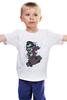 "Детская футболка ""Дракула на Скейте"" - skate, dracula"