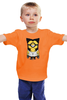 """Детская футболка классическая унисекс """"Миньон  Росомаха"""" - комиксы, росомаха, люди икс, миньоны, гадкий я"""