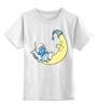 """Детская футболка классическая унисекс """"Смурфик"""" - smurf, the smurfs, смурфы"""