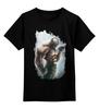 """Детская футболка классическая унисекс """"Бейн и Бэтмен"""" - batman, бэйн, bane, суперзлодей"""