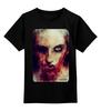 "Детская футболка классическая унисекс ""Zomdie"" - zombie, зомби, girl, ходячие мертвецы, the walking dead"