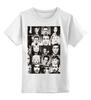 """Детская футболка классическая унисекс """"звезда кино"""" - stars, коллаж, collage, actors, hollywood"""