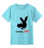 """Детская футболка классическая унисекс """"DonkeyHot"""" - пикап-мастер"""