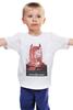 "Детская футболка ""Batman Begins"" - batman, кино, бэтмен, афиша, kinoart"