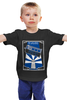 """Детская футболка """"Тардис (Доктор Кто)"""" - doctor who, tardis, доктор кто, тардис, time lord"""