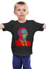 """Детская футболка """"Поп-Арт-Путин"""" - поп-арт, россия, путин, президент, кремль"""