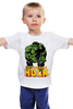 "Детская футболка классическая унисекс ""Халк (Hulk)"" - супергерой, hulk, marvel, superhero, халк"