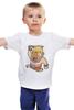 """Детская футболка классическая унисекс """"Варвар (Clash of Clans)"""" - clash of clans, варвар, столкновение кланов, barbarian"""
