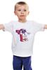 """Детская футболка """"Космонавт"""" - space, космос, 12 апреля, космонавт"""