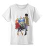"""Детская футболка классическая унисекс """"К востоку от рая / Eden of The East"""" - аниме, персонажи аниме, к востоку от рая, саки морими, акира такидзава"""