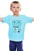 """Детская футболка классическая унисекс """"BMO The Adventure Tim"""" - adventure time, время приключений, bmo, бимо"""