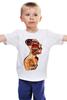 """Детская футболка """"Женщина машина"""" - машина, женщина, робот, язык"""