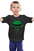 """Детская футболка """"Загадочник (The Riddler)"""" - batman, бэтмен, загадочник, the riddler"""