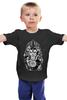"""Детская футболка классическая унисекс """"The Lion"""" - арт, king, лев, индейцы"""