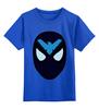 """Детская футболка классическая унисекс """"Найтвинг (Nightwing)"""" - найтвинг"""