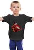 """Детская футболка классическая унисекс """"Жедезный человек"""" - comics, marvel, iron man, tony stark, тони старк, железый человек"""