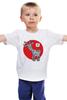 """Детская футболка """"Символ 2015"""" - новый год, символ, 2015, коза, goat"""