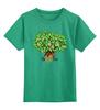"""Детская футболка классическая унисекс """"iCalistini The Life Tree Дерево Жизни"""" - счастье, tree, дерево жизни, icalistini"""
