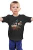 """Детская футболка классическая унисекс """"Ночной город"""" - авто, night, ночь, гонки, мото, racing, скорость, speed"""