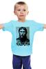"""Детская футболка классическая унисекс """"Rasputin"""" - россия, russia, imperia, распутин, rasputin"""