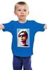 """Детская футболка классическая унисекс """"Энди Уорхол"""" - поп арт, энди уорхол, pop art, andy warhol"""