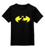 """Детская футболка классическая унисекс """"Бэтмен (Batman)"""" - batman, бэтмен, superhero"""