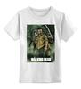 """Детская футболка классическая унисекс """"Ходячие мертвецы"""" - zombie, зомби, ходячие мертвецы, walking dead, the walking dead"""