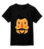 "Детская футболка классическая унисекс ""Борода III"" - борода, усы, beard, mustache"