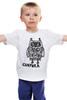 """Детская футболка """"Совушка"""" - сова, owl"""