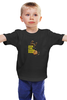"""Детская футболка классическая унисекс """"Star Wars"""" - s, star wars, звездные войны, печеньки, дарт вейдер, звезда смерти"""