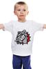 """Детская футболка классическая унисекс """"Бульдог"""" - бульдог, bulldog"""