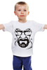 "Детская футболка классическая унисекс ""хайзенберг"" - во все тяжкие, breaking bad, walter white, уолтер уайт, heisenberg, хайзенберг"