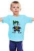 """Детская футболка классическая унисекс """"Джокер (8-бит)"""" - joker, batman, джокер, бэтмен"""
