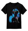 """Детская футболка классическая унисекс """"My Little Pony: DJ Pon-3 (Vinyl Scratch)"""" - dj, pony, mlp, пони, brony"""