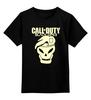 """Детская футболка классическая унисекс """"Call of Duty Black Ops"""" - компьютерные игры, black ops, call of duty, cod, call of duty black ops"""