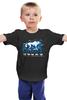 """Детская футболка классическая унисекс """"Призрак"""" - призрак, волк, ghost, игра престолов, game of thrones"""