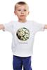 """Детская футболка классическая унисекс """"Сумочка для упаковки подарка"""" - любовь, цветы, весна, свадьба, невеста, подарок, молодожены, букет, spring"""