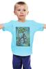 """Детская футболка """"Зловещие Мертвецы"""" - зомби, винтаж, япония, иероглифы, зловещие мертвецы"""