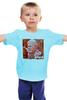 """Детская футболка классическая унисекс """"Зюганов и КПРФ"""" - россия, кпсс, кпрф, комунизм, зюганов"""